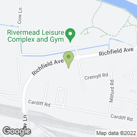 Map of Toby Carvery in Reading, berkshire