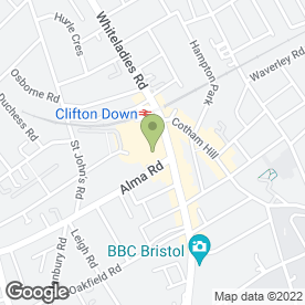 Map of Bryan Stone & Co in Clifton, Bristol, avon