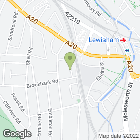 Map of Roger Garrett Professional Carpet & Upholstery Care in London, london
