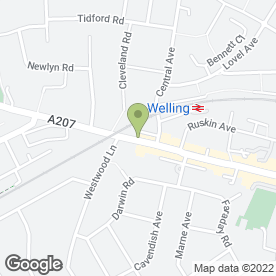 Map of 7 Day Healthcare in Welling, kent