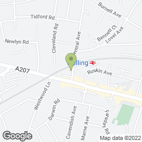 Map of 24 Hr Central Car Hire Ltd in Welling, kent