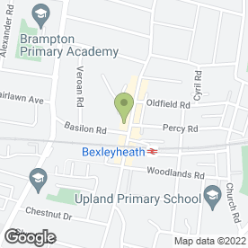 Map of PINESTYLE in Bexleyheath, kent