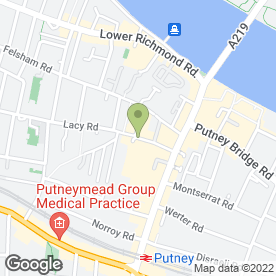 Map of Escape Spa in London, london