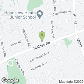 Map of A.S TRANSPORT in Hounslow, middlesex