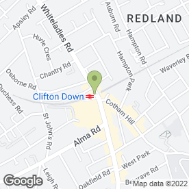 Map of JOHN HODGE SOLICITORS in Bristol, avon