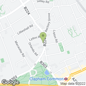 Map of VIP ROOMS LONDON in London, london