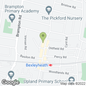 Map of PSM Plant & Tool Hire Centres Ltd in Bexleyheath, kent