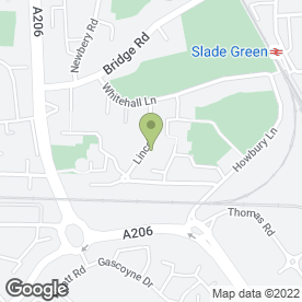 Map of Hardy Supermarket in Slade Green, Erith, kent