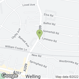 Map of Edilbuild.com in Welling, kent