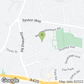 Map of Abbey Driving School in Kingswood, Bristol, avon