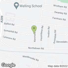 Map of CBY Builders in Welling, kent