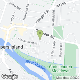 Map of Rabbits Vehicle Hire Ltd in Caversham, Reading, berkshire