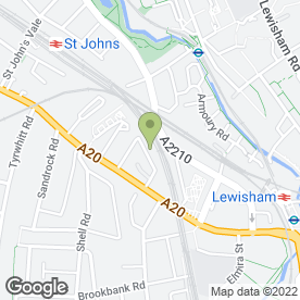 Map of Lewisham Door Repairs in Lewisham, london