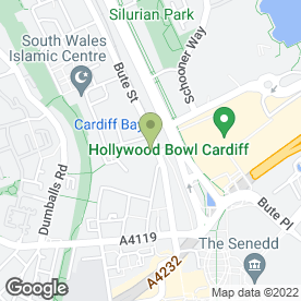 Map of Mode Associates Ltd in Cardiff, south glamorgan