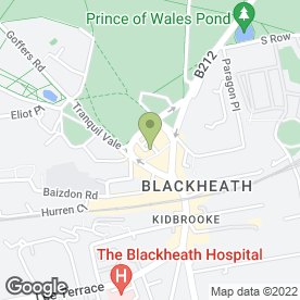 Map of Blackheath Refurbishments Ltd in London, london