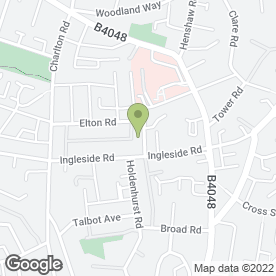 Map of Lodgeside Surgery in Kingswood, Bristol, avon