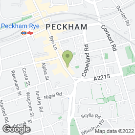 Map of Chicken Cottage in London, london