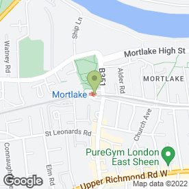 Map of Classic Chrome Ltd in Mortlake, London, london