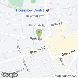 Map of Bonnetts Solicitors Ltd in Hounslow, middlesex