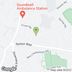 Map of PAL LOCKSMITHS in Kingswood, Bristol, avon