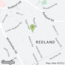Map of Redland Pre-School in Bristol, avon