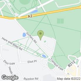 Map of Blackheath Tea Hut in London, london