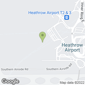 Map of The Post Office Heathrow Airport in London Heathrow Airport, Hounslow, middlesex