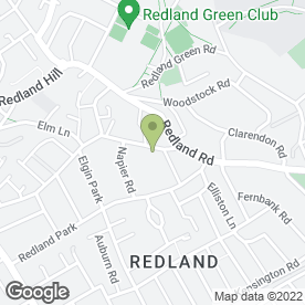 Map of REDLAND BODY WORKS in Bristol, avon