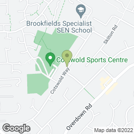 Map of Dance Reality in Reading, berkshire