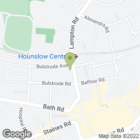 Map of Osmans Solicitors in Hounslow, middlesex