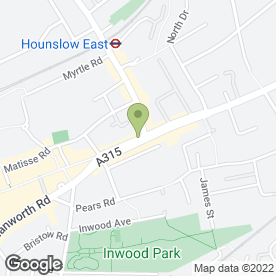 Map of Ravi Sethi Solicitors in Hounslow, middlesex
