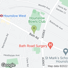 Map of Stepping Stones Playgroup in Hounslow, middlesex