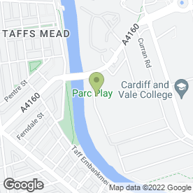Map of Cardiff Scaffolding Contracts Ltd in Cardiff, south glamorgan