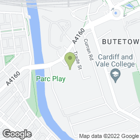 Map of Furniture Direct in Cardiff, south glamorgan