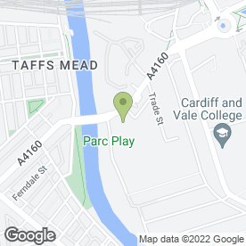 Map of Big Yellow Self Storage Cardiff in CARDIFF, south glamorgan