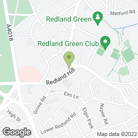 Map of ECS Carpet & Upholstery Cleaning in Redland, Bristol, avon