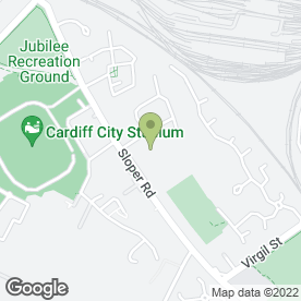 Map of Cardiff City Transport Services Ltd in Leckwith, Cardiff, south glamorgan