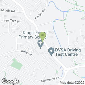 Map of Scenic Paving & Landscaping in Kingswood, Bristol, avon
