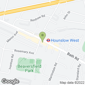 Map of MK Gill Solicitors London in Hounslow, middlesex