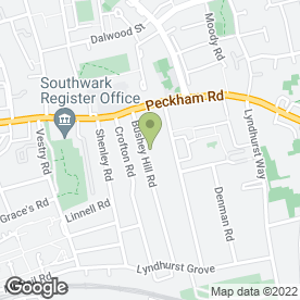 Map of Kumon maths and English study centre (Peckham) in LONDON, london
