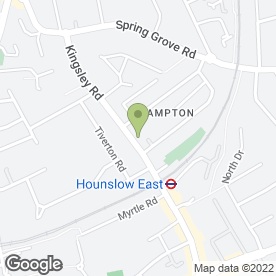 Map of Beauty Point in Hounslow, middlesex
