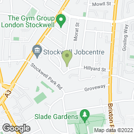 Map of London Horizons Health Club in London, london