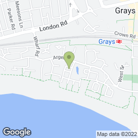 Map of Meer Brothers & Co in Grays, essex
