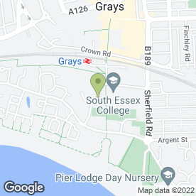 Map of Citizens Advice Bureau in Grays, essex