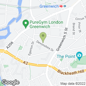 Map of NMH Weddings in London, london