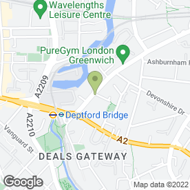 Map of Box Security Ltd in Greenwich, London, london