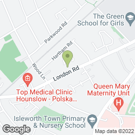 Map of Spicha Flooring Service in Isleworth, middlesex