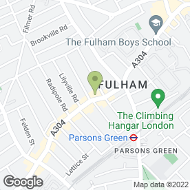 Map of Naked Nosh in Fulham, London, london