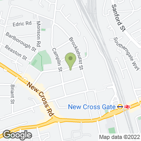 Map of New Cross Heating And Boiler Specialists in London, london