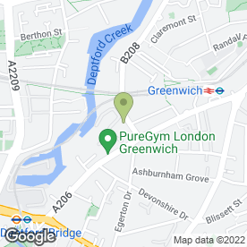 Map of Grant Saw Solicitors LLP in Greenwich, London, london